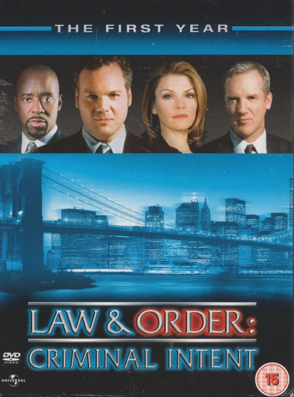 LAW & ORDER: CRIMINAL INTENT - Complete 1st Series. 2001/02 (6xDVD BOX SET 2005) USED